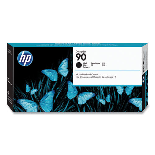 Hp 90, (c5054a) Black Printhead & Cleaner