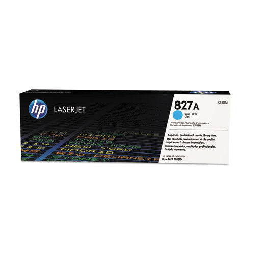 Hp 827a, (cf301a) Cyan Original Laserjet Toner Cartridge