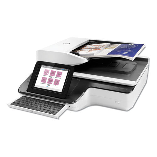 Scanjet Enterprise Flow N9120 Fn2 Document Scanner, 600 Dpi Optical Resolution, 200-sheet Duplex Auto Document Feeder