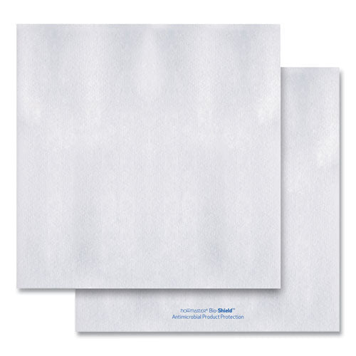 Bio-shield Dinner Napkins, 1-ply, 17 X 17, 8.5 X 8.5 Folded, White, 300-carton