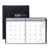 100% Recycled Monthly 5-year-62 Months Planner, 11 X 8.5, Black, 2021-2025