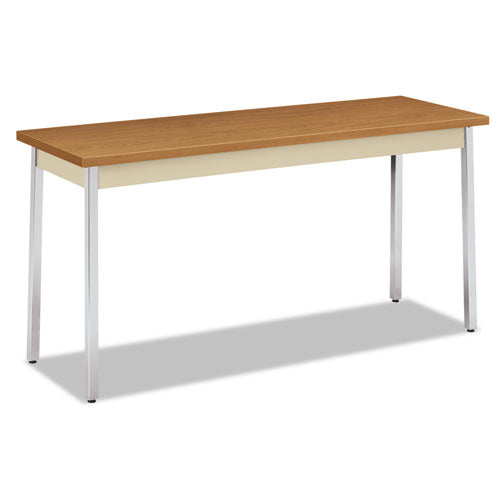 Utility Table, Rectangular, 60w X 20d X 29h, Harvest-putty