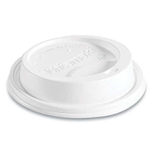Hot Cup Lids, Fits 10-24 Oz Hot Cups, Dome Sipper, White, 1,000-carton