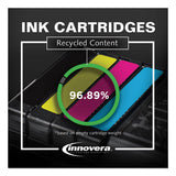 Remanufactured Black Ink, Replacement For Hp 56 (c6656an), 450 Page-yield