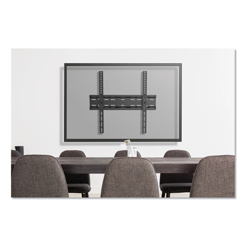 "Fixed And Tilt Tv Wall Mount For Monitors 32"" To 55"", 16.7w X 2d X 18.3h"