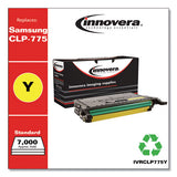 Remanufactured Yellow Toner, Replacement For Samsung Clp-775 (clt-y609s), 7,000 Page-yield