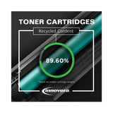 Remanufactured Cyan Toner, Replacement For Hp 128a (ce321a), 1,300 Page-yield
