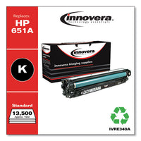 Remanufactured Black Toner, Replacement For Hp 651a (ce340a), 16,000 Page-yield