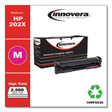 Remanufactured Magenta High-yield Toner, Replacement For Hp 202x (cf503x), 2,500 Page-yield