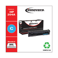 Remanufactured Cyan Toner, Replacement For Hp 204a (cf511a), 900 Page-yield