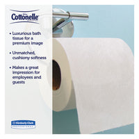 Clean Care Bathroom Tissue, Septic Safe, 1-ply, White, 170 Sheets-roll, 48 Rolls-carton