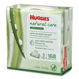 Natural Care Baby Wipes, Unscented, White, 56-pack, 3-pack-box