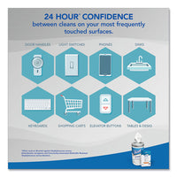 24-hour Sanitizing Wipes, 4.5 X 8.25, White, 75-canister, 6 Canisters-carton