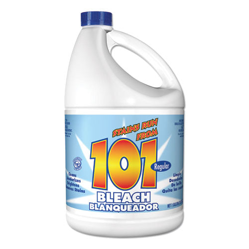Regular Cleaning Low Strength Bleach, 1 Gal Bottle, 6-carton