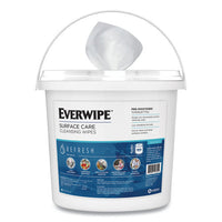 Everwipe Chem-ready Dispenser Bucket, 12.63 X 12.63 X 11.5, White, 2-carton
