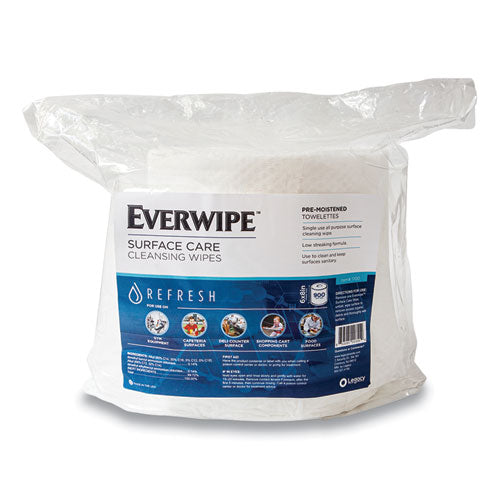 Cleaning And Deodorizing Wipes, 6 X 8, 900-bag, 4 Bags-carton