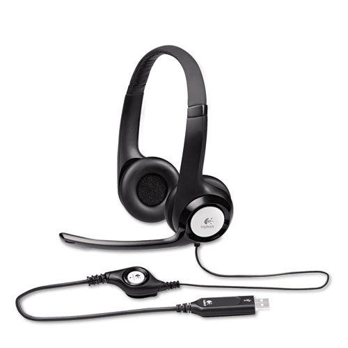 H390 Usb Headset W-noise-canceling Microphone