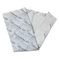 "Ultrasorbs Ap Underpads, 31"" X 36"", White, 10-pack, 4 Pack-carton"