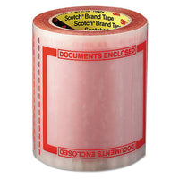 "Pouch Tape, 3"" Core, 5"" X 6"", Transparent"