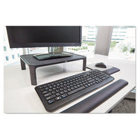 Adjustable Monitor Stand, 16 X 12 X 1 3-4 To 5 1-2, Black