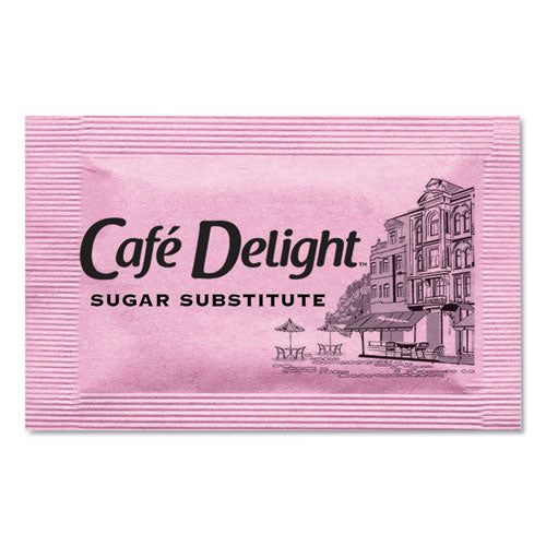 Pink Sweetener Packets, 0.08 G Packet, 2000 Packets-box
