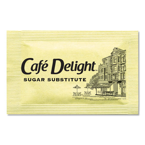 Yellow Sweetener Packets, 0.08 G Packet, 2000 Packets-box