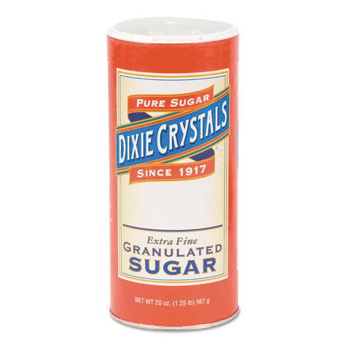Granulated Sugar, 20 Oz Canister, 24-carton