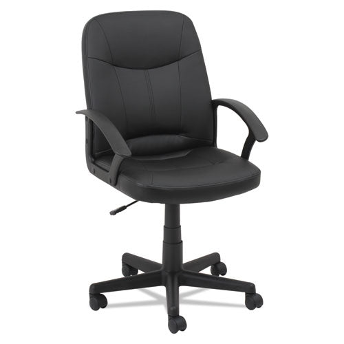 Executive Office Chair, Supports Up To 250 Lbs., Black Seat-black Back, Black Base