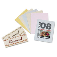 Array Card Stock, 65lb, 8.5 X 11, Assorted Classic Colors, 50-pack