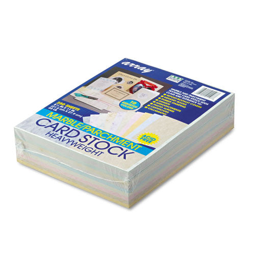 Array Card Stock, 65lb, 8.5 X 11, Assorted, 250-pack