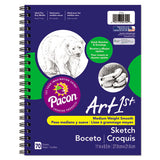 Art1st Sketch Diary, 60 Lb, 11 X 8.5, White, 70 Sheets
