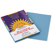 Construction Paper, 58lb, 9 X 12, Sky Blue, 50-pack