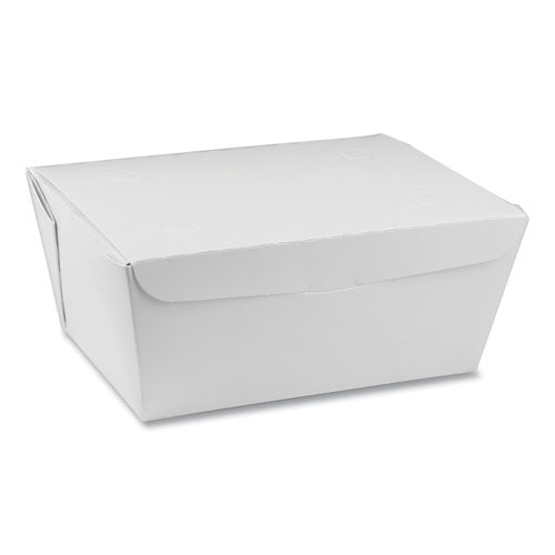 Earthchoice Onebox Paper Box, 66 Oz, 6.5 X 4.5 X 3.25, White, 160-carton