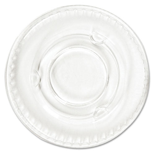 Pactiv Crystal-Clear Portion Cup Lids