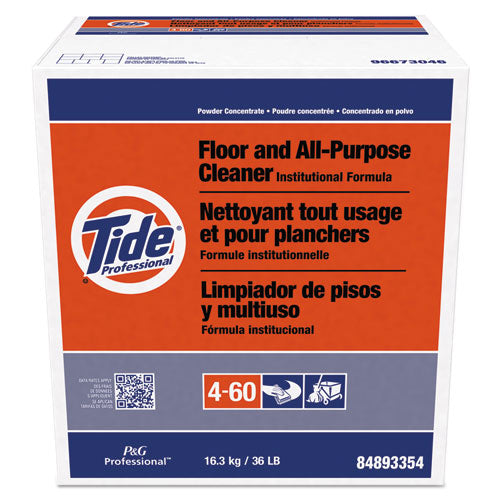 Floor And All-purpose Cleaner, 36lb Box