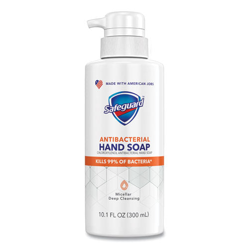 Antibacterial Liquid Hand Soap, Fresh Clean Scent, 10.1 Oz Pump Bottle, 4-carton