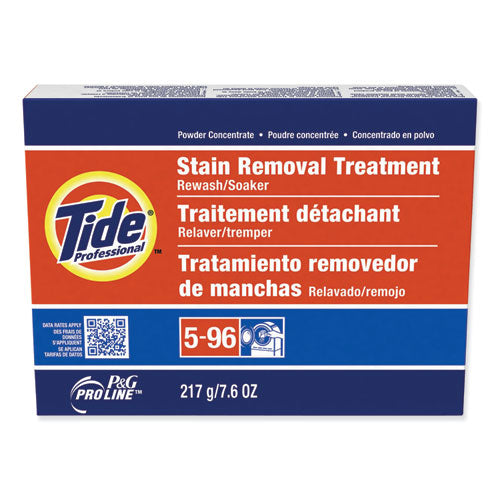 Stain Removal Treatment Powder, 7.6 Oz Box, 14-carton