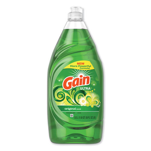 Dishwashing Liquid, Gain Original, 38 Oz Bottle