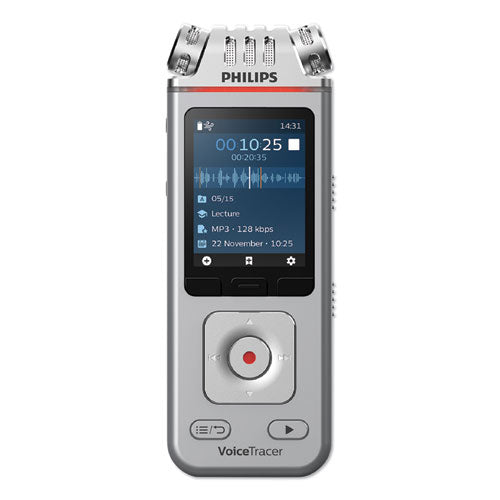 Voice Tracer 4110 Digital Recorder, 8 Gb, Silver