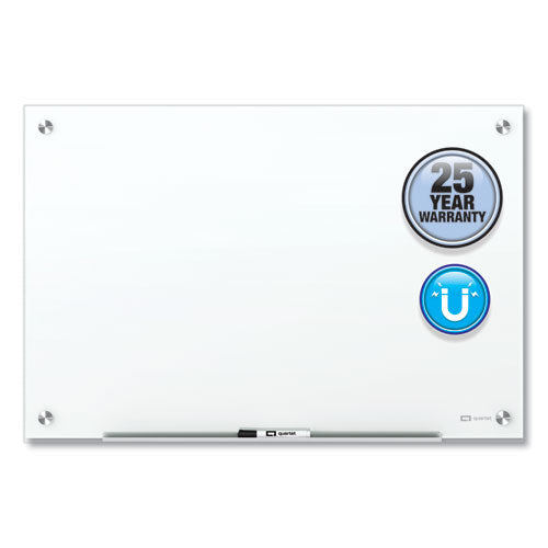 Brilliance Glass Dry-erase Boards, 24 X 18, White Surface