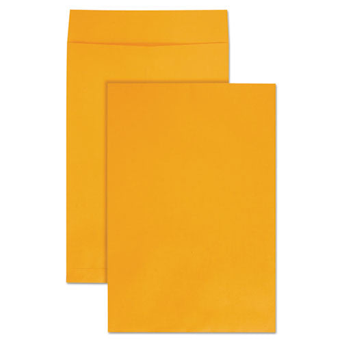 Jumbo Size Kraft Envelope, Fold Flap Closure, 12.5 X 18.5, Brown Kraft, 25-pack