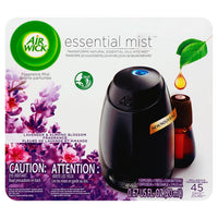 Essential Mist Starter Kit, Lavender And Almond Blossom, 0.67 Oz, 4-carton