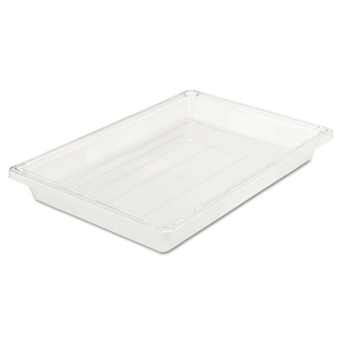 Food-tote Boxes, 5gal, 26w X 18d X 3 1-2h, Clear
