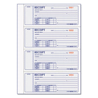 Money Receipt Book, 7 X 2 3-4, Carbonless Triplicate, 200 Sets-book