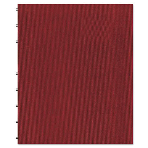 Miraclebind Notebook, 1 Subject, Medium-college Rule, Red Cover, 11 X 9.06, 75 Sheets