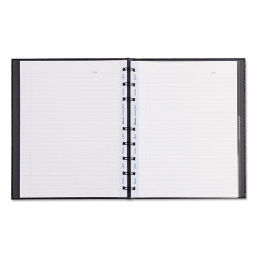 Miraclebind Notebook, 1 Subject, Medium-college Rule, Black Cover, 9.25 X 7.25, 75 Sheets