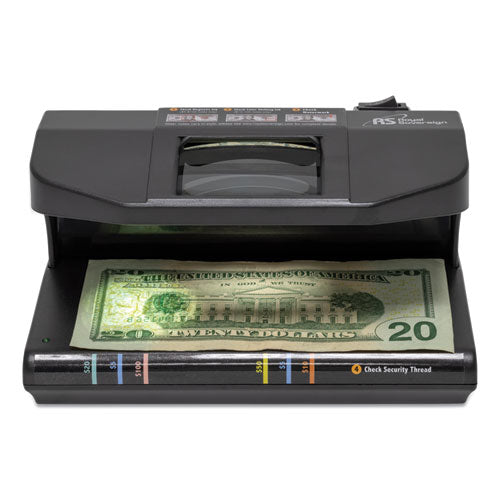 Four-way Counterfeit Detector, Uv, Fluorescent, Magnetic, Magnifier