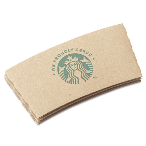 Cup Sleeves, For 12-16-20 Oz Hot Cups, Kraft, 1380-carton