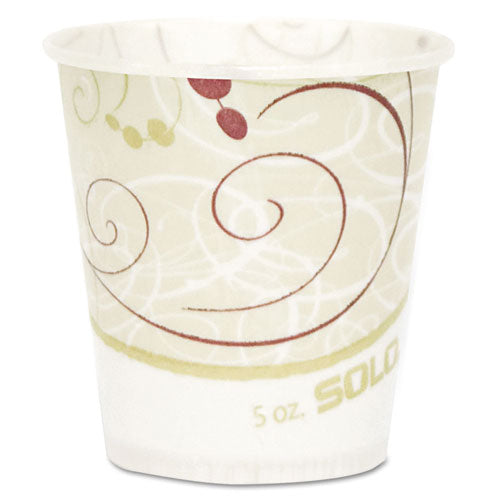 Paper Water Cups, Waxed, 5oz, 100-bag, 30 Bags-carton