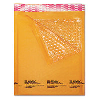 Jiffylite Self-seal Bubble Mailer, #5, Barrier Bubble Lining, Self-adhesive Closure, 10.5 X 16, Golden Brown Kraft, 25-carton